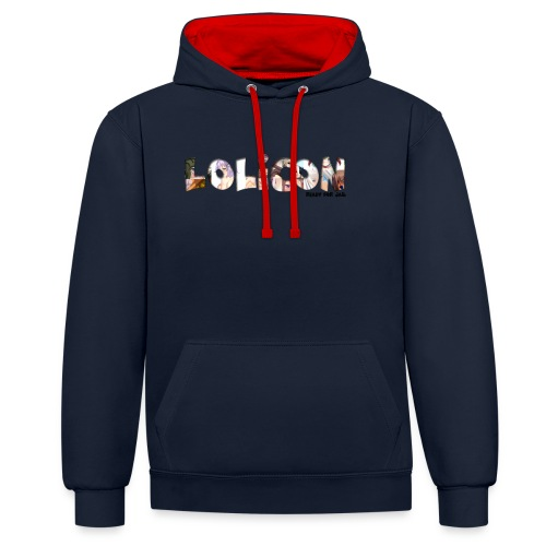 lolicon ready for jail - Sweat-shirt contraste