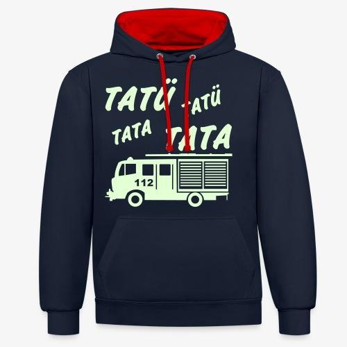 Tatü Tata - Kontrast-Hoodie