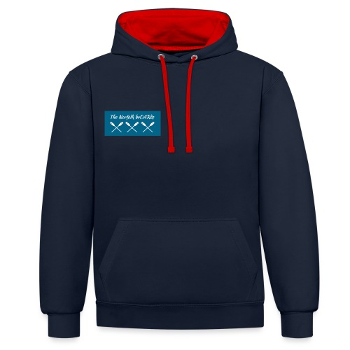 The Norfolk BrOARds Supporter Shop - Contrast Colour Hoodie