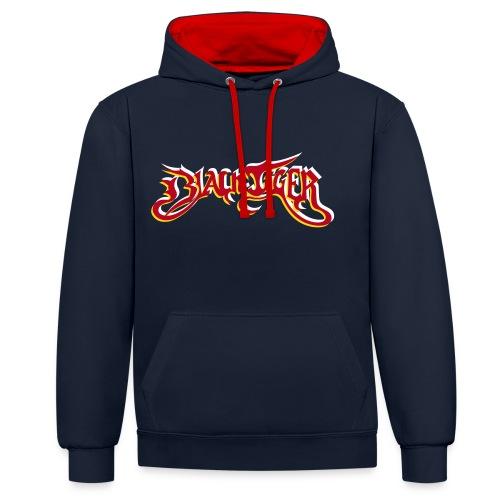 Blacktigerserz - Contrast hoodie