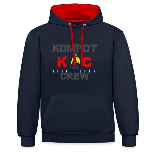 Abbigliamento Kompot Crew - Felpa con cappuccio bicromatica