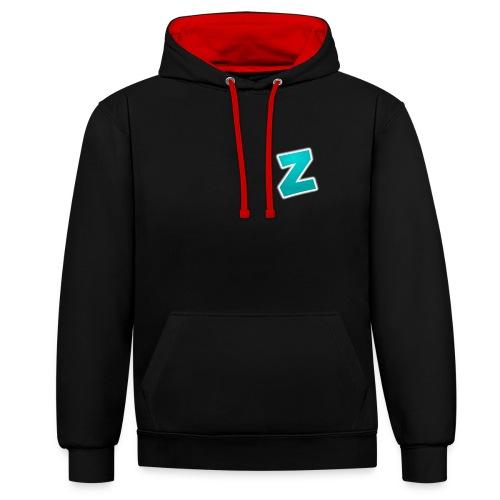 Z3RVO Logo! - Contrast Colour Hoodie
