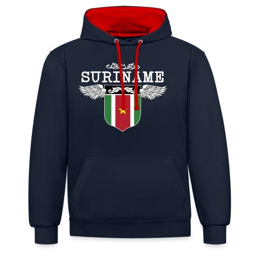 Suriname Wings - Contrast hoodie