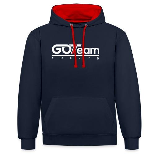 GOTeam Racing White - Kontrastluvtröja
