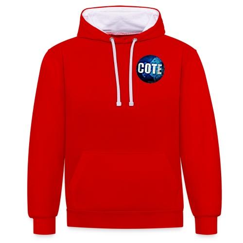 COTE Logo - Contrast Colour Hoodie