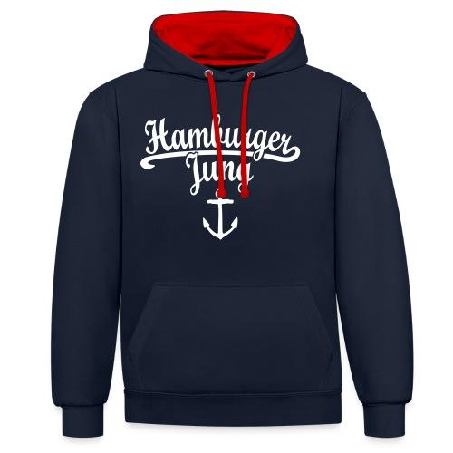 Hamburger Jung Klassik Hamburg - Kontrast-Hoodie