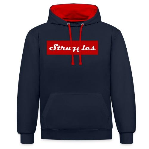 Struggles - Contrast hoodie
