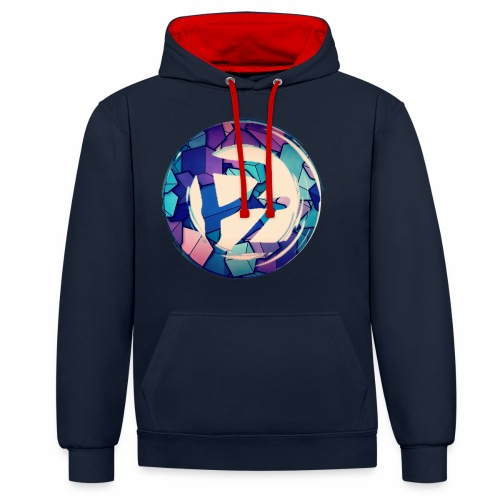 1524355072035 - Contrast Colour Hoodie