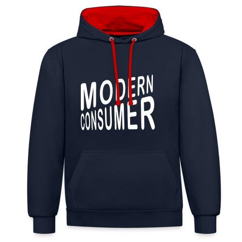 ModernConsumer Shirt - Kontrast-Hoodie