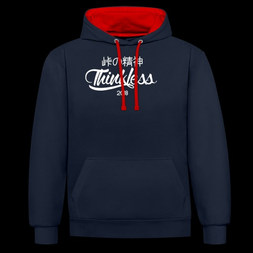 SIGNATURE THINKLESS - Sweat-shirt contraste
