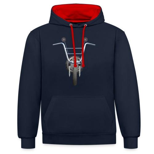 steampunkbike - Contrast hoodie