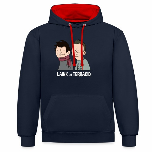 Laink et Terracid - Sweat-shirt contraste
