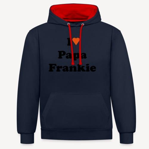 franii - Contrast Colour Hoodie