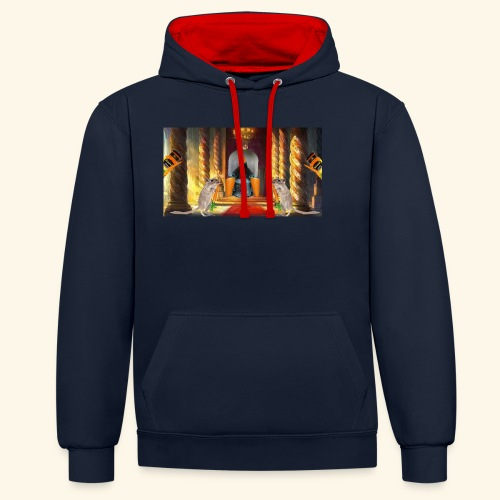 The Carrot King - Contrast Colour Hoodie