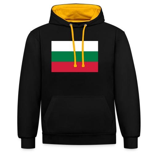 Bulgaria - Contrast hoodie