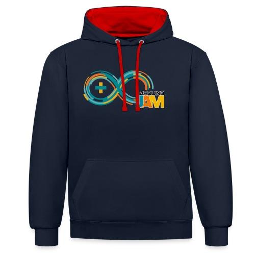 T-shirt Arduino-Jam logo - Contrast Colour Hoodie