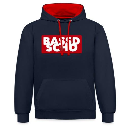 BASSD SCHO - Kontrast-Hoodie