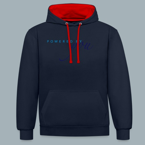 Powered By You Basketbal Shirt - Contrast hoodie