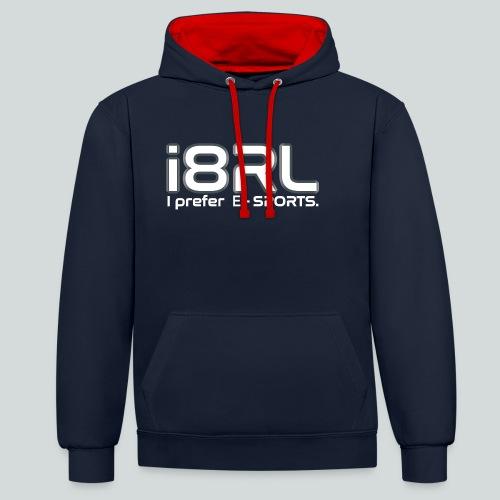 i8RL - I prefer e-sports - Sweat-shirt contraste