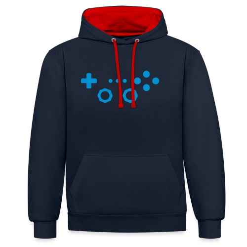 Classic Gaming Controller - Contrast Colour Hoodie