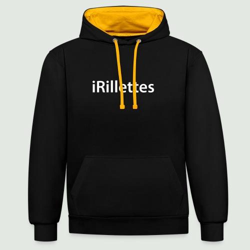 rillettes - Sweat-shirt contraste