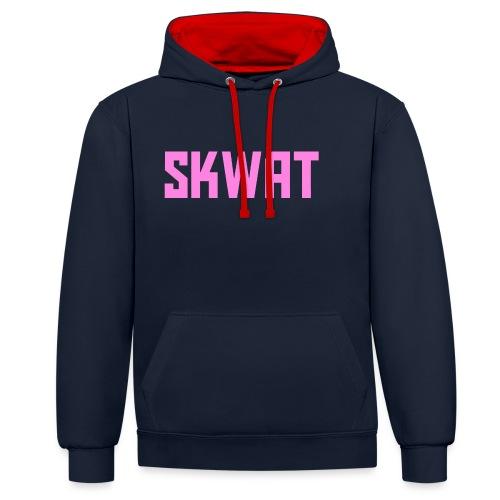 ROZE DESIGN - Contrast hoodie