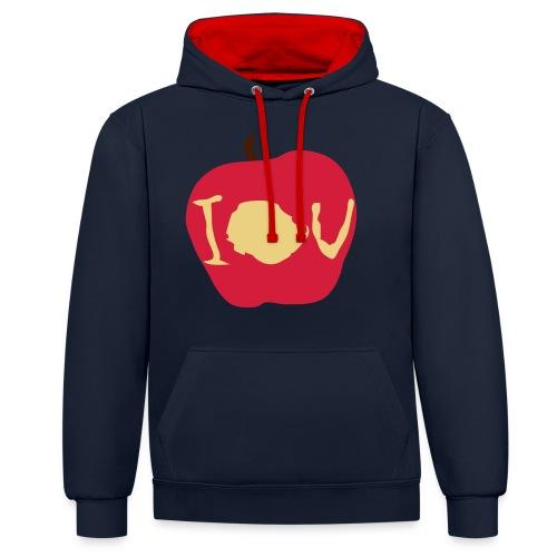 IOU (Sherlock) - Contrast Colour Hoodie