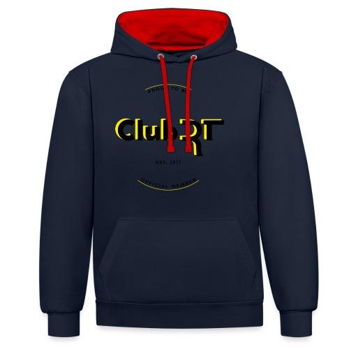 T-shirt Club Rt, A.A. 2017 - Felpa con cappuccio bicromatica