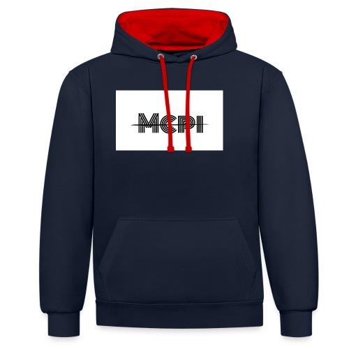 Mcpi Hoodie and Shirt - Kontrast-Hoodie