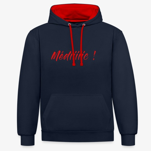 Médiiiiic ! - Sweat-shirt contraste