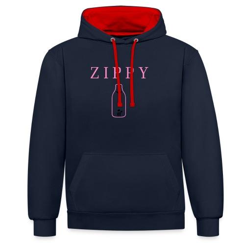 ZIPPY 3 - Sudadera con capucha en contraste