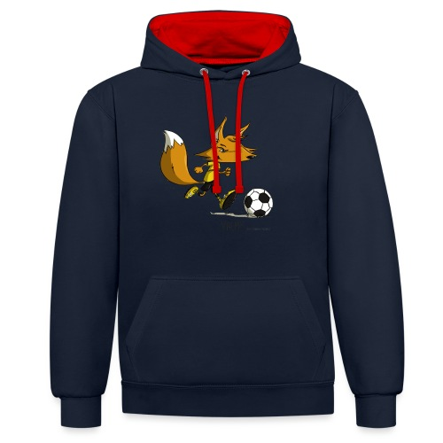 Valmy mascotte - Sweat-shirt contraste