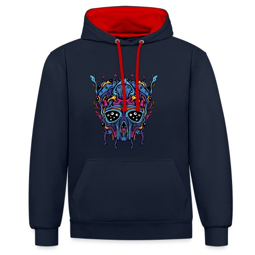 Expanding Visions - Contrast Colour Hoodie
