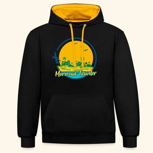 Moroccan Traveler - Sweat-shirt contraste