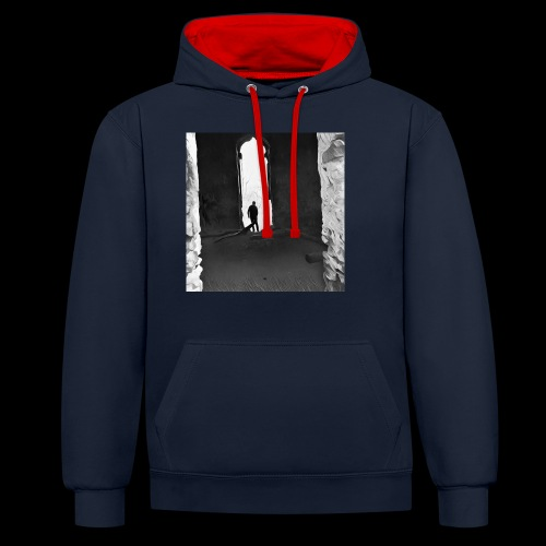 Misted Afterthought - Contrast Colour Hoodie