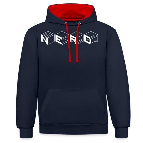 NERD-Cube - Contrast Colour Hoodie