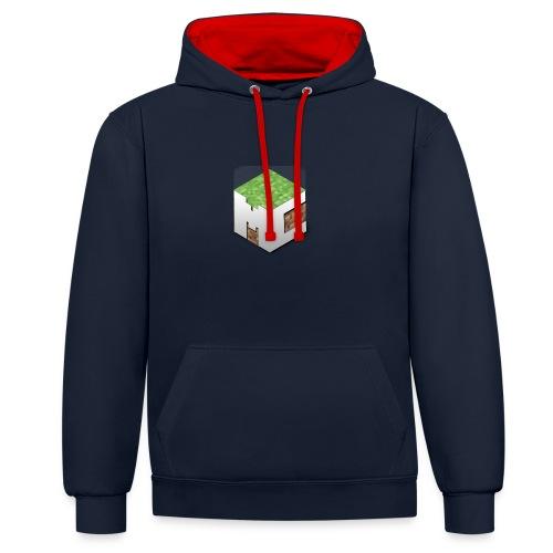 MineCraft 3D - Contrast hoodie
