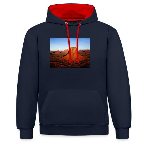 Desert - Sweat-shirt contraste