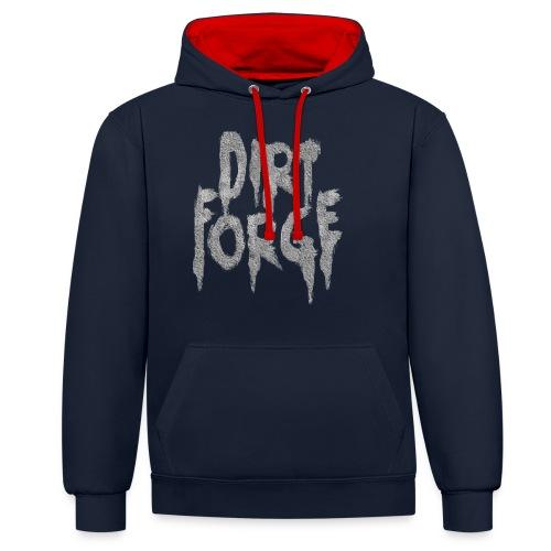 Dirt Forge Gravel t-shirt - Kontrast-hættetrøje