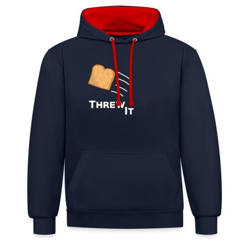 Toast - Kontrast-Hoodie