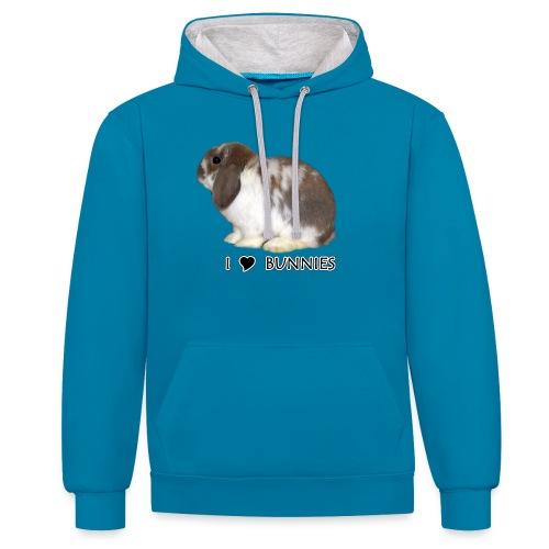 I Love Bunnies Luppis - Kontrastihuppari