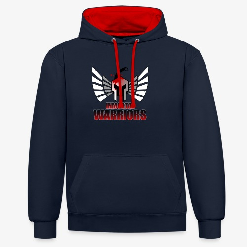 The Inmortal Warriors Team - Contrast Colour Hoodie