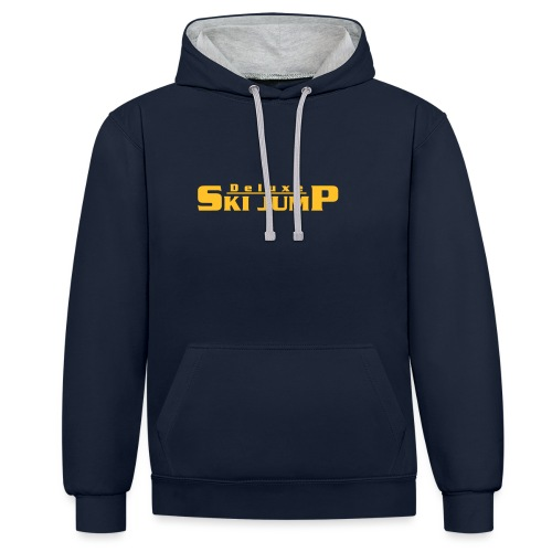 Deluxe Ski Jump - Contrast Colour Hoodie