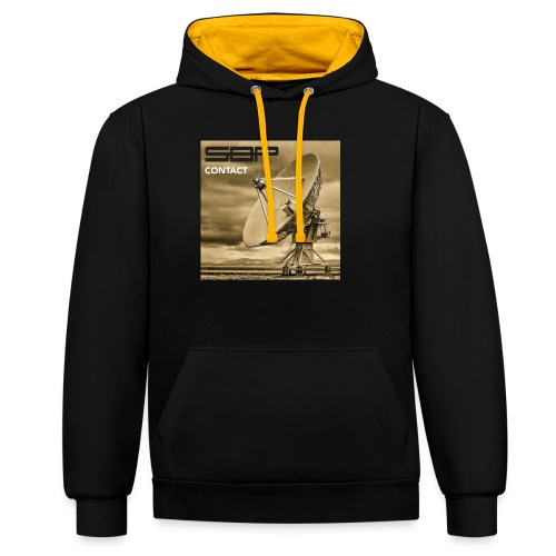 T-shirt Contact 1 - Contrast Colour Hoodie