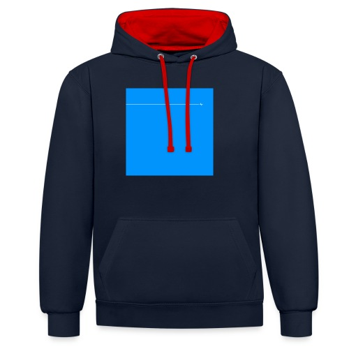 sklyline blue version - Sweat-shirt contraste