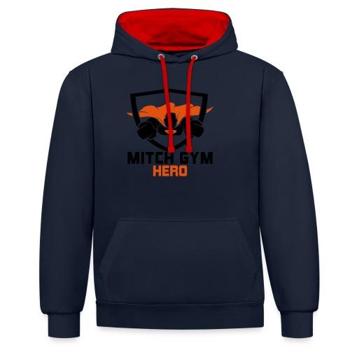FLYING HERO - Contrast hoodie