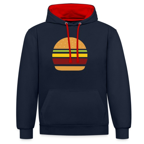 Logo Burger Panhamburger - Sweat-shirt contraste