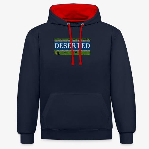 Deserted: The Story of Peter Logo - Felpa con cappuccio bicromatica