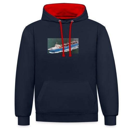 Bell Pioneer jpg - Contrast hoodie