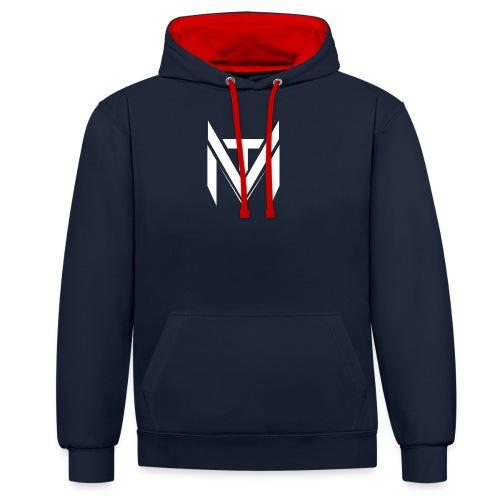 MadVexTV Logo Gross - Kontrast-Hoodie